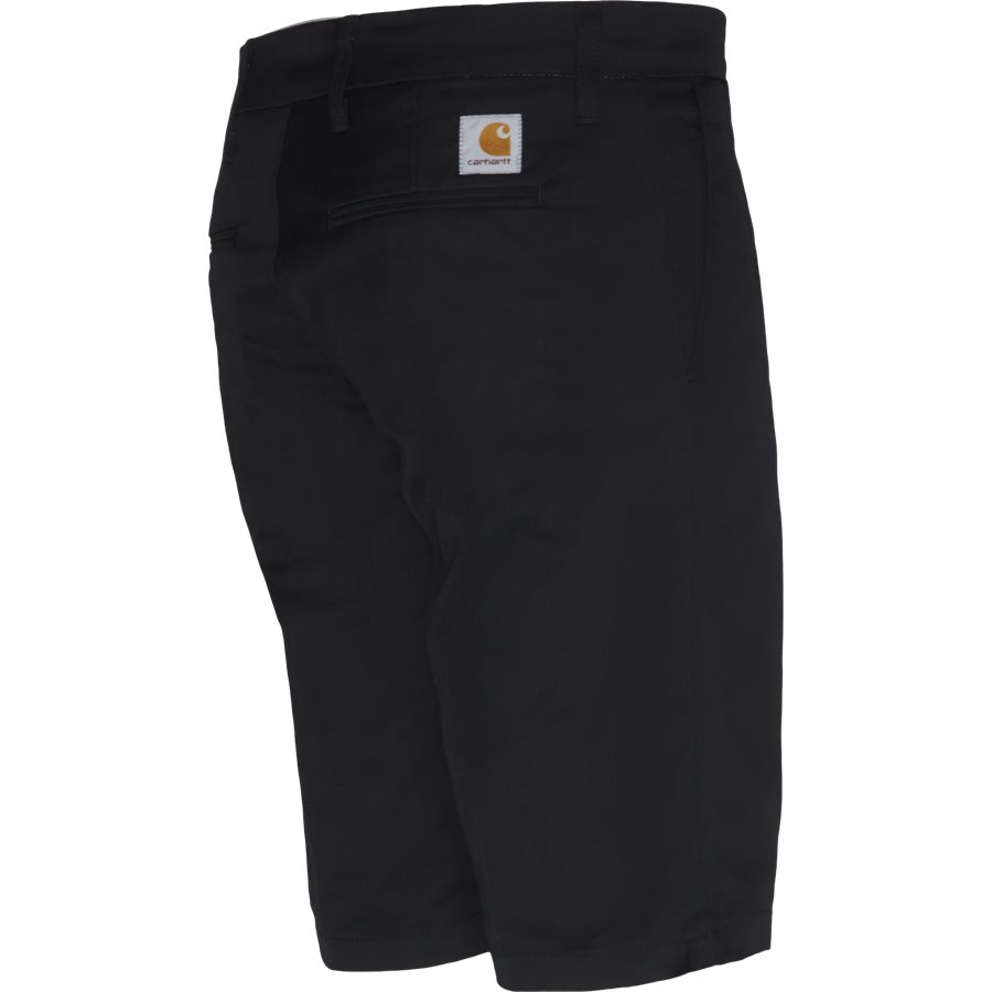 SID SHORT. I010722 - Sid Shorts - Shorts - Slim - BLACK RINSED - 3